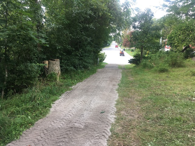 New Gravel on the Trail